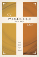 KJV, Amplified, Parallel Bible, Large Print, Hardcover, Red Letter Edition ebook