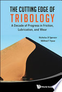 The Cutting Edge of Tribology Book
