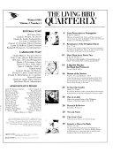 The Living Bird Quarterly