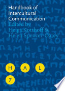 Handbook of Intercultural Communication Book