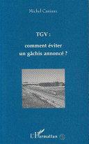 TGV : Comment éviter un gâchis annoncé ?