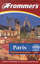 Pdf Frommer's Paris From $80 a Day 2001