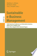 Sustainable e Business Management