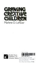 Growing Creative Children