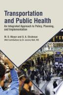 Transportation and Public Health
