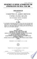 Department of Defense Authorization for Appropriations for Fiscal Year 2009, S. Hrg. 110-394, Part 1, February 6, 26, 28; March 4, 5, 6, 11, 2008, 110-2 Hearings, *.