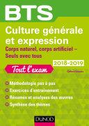 Pdf BTS Culture générale et Expression 2018-2019 Telecharger