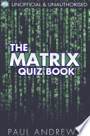 The Matrix Quiz Book