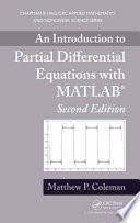An Introduction to Partial Differential Equations with MATLAB  Second Edition
