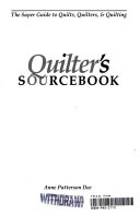 Quilter s Sourcebook