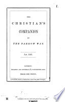 The Christian s companion in the narrow way