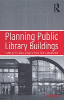 Planning Public Library Buildings Pdf/ePub eBook
