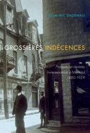 Pdf Grossières indécences Telecharger