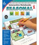 Interactive Notebooks Seasonal  Grade 1