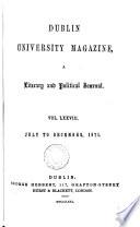 Dublin University A Literary Journal And Political Journal