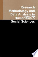 Research Methodology And Data Analysis In Humanities Social Sciences