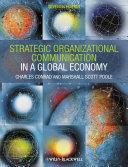 Strategic Organizational Communication ebook