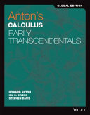 Anton's Calculus Early Transcendentals Global Edition with WileyPlus Card 11th Edition Set