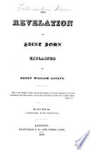The Revelation Of St John Explained Second Edition Corrected With Additions