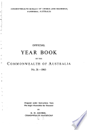 Official Year Book Of The Commonwealth Of Australia No 51 1965