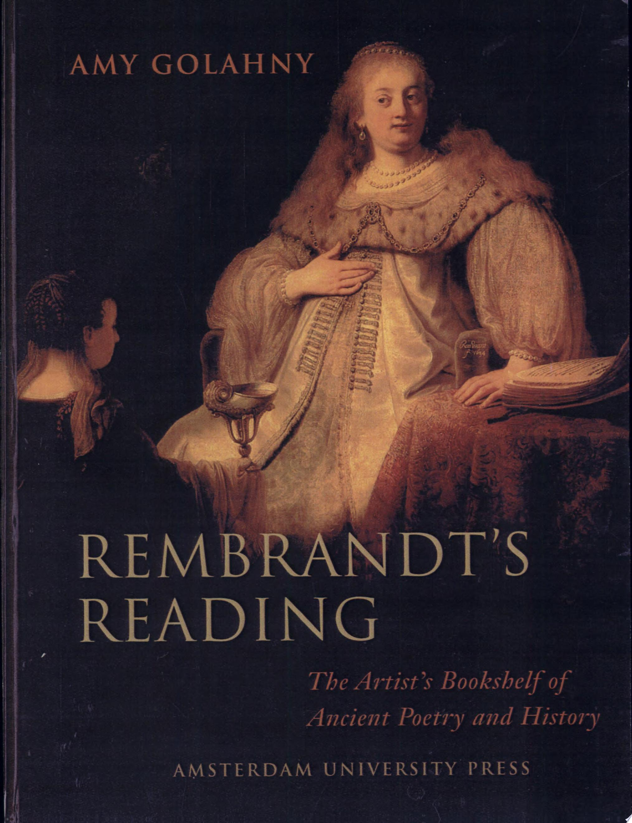 Rembrandt s Reading