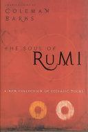 The Soul of Rumi Book