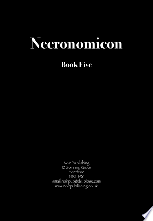 Download Necronomicon Free Books - Read Books