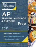 Princeton Review AP Spanish Language   Culture Prep 2021