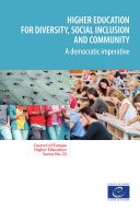Higher education for diversity  social inclusion and community