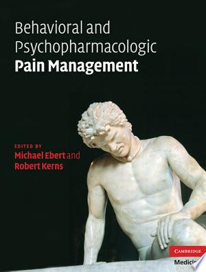 Download Behavioral and Psychopharmacologic Pain Management Free Books - Dlebooks.net