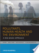 Pollutants Human Health And The Environment Book PDF