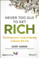 Never Too Old to Get Rich Pdf/ePub eBook