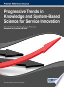 Progressive Trends In Knowledge And System Based Science For Service Innovation Book PDF