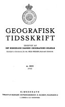 Pdf Geografisk tidskrift