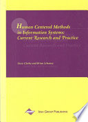 Human Centered Methods In Information Systems Current Research And Practice