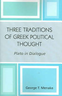 Three Traditions of Greek Political Thought