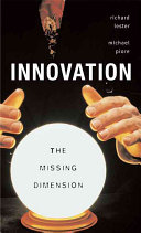 Innovation   The Missing Dimension