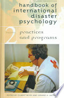 Handbook of International Disaster Psychology: Practices and programs