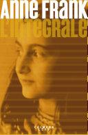 Anne Frank - L'Intégrale Pdf/ePub eBook