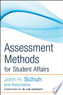 Assessment Methods for Student Affairs Book