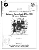 Potomac Consolidated Terminal Radar Approach Control  TRACON  Facility Airspace Redesign