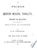 A Primer Of Modern Musical Tonality Book PDF