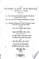 Oudh Law Journal
