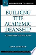 Building The Academic Deanship