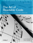 Pdf The Art of Readable Code Telecharger