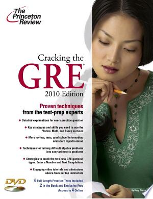 Download Cracking the GRE with DVD, 2010 Edition online Books - godinez books