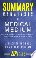 Summary Analysis Of Medical Medium Book