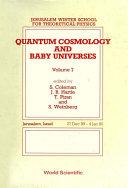 Quantum Cosmology And Baby Universes: Proceedings Of 7th Jerusalem Winter School [Pdf/ePub] eBook
