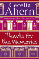 Thanks for the Memories Book Cover