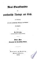 Real-encyklopädie für protestantische theologie und kirche: bd. Comenius bis encyklische briefe